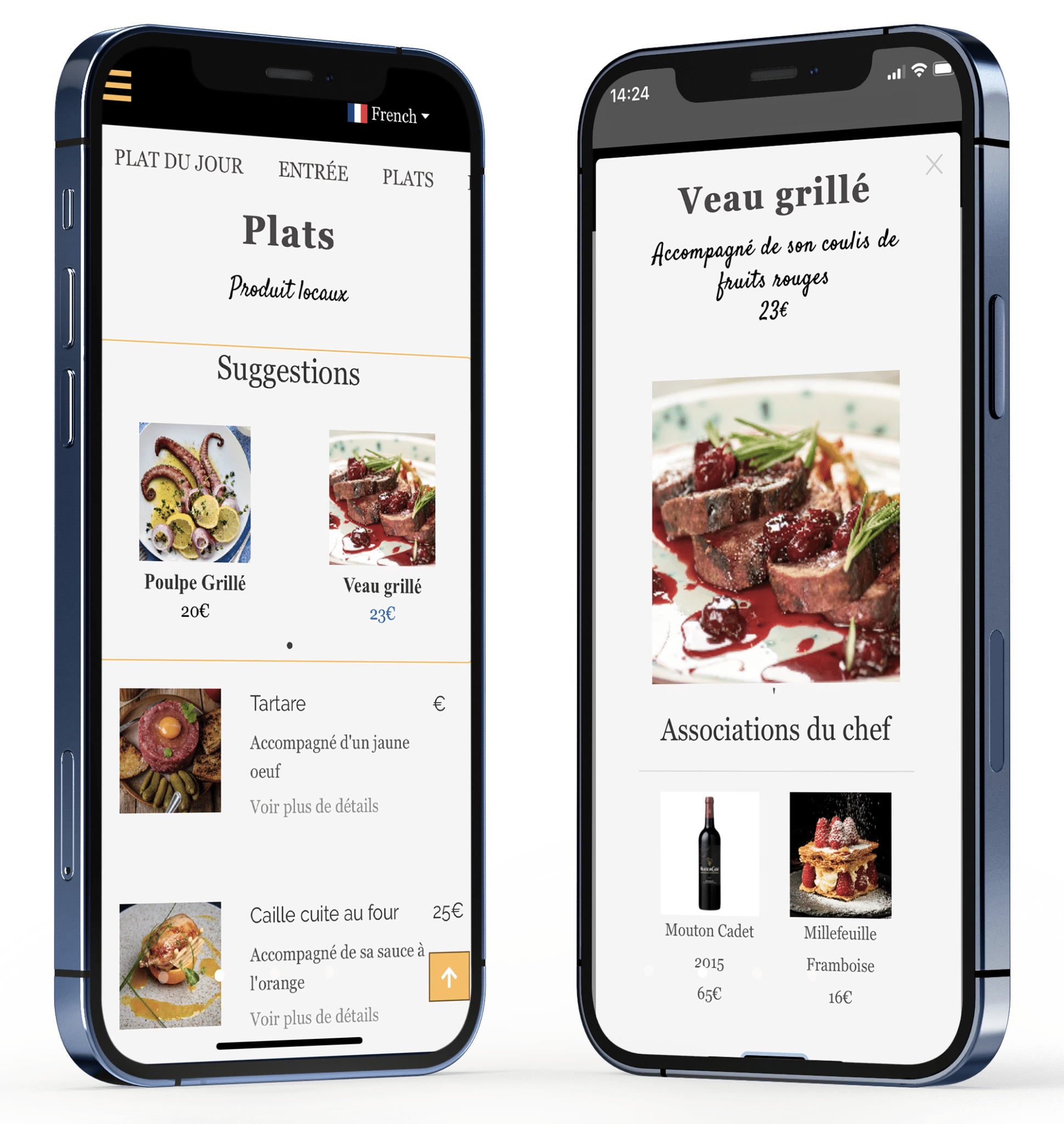 WiiCmenu - Interface du menu digital